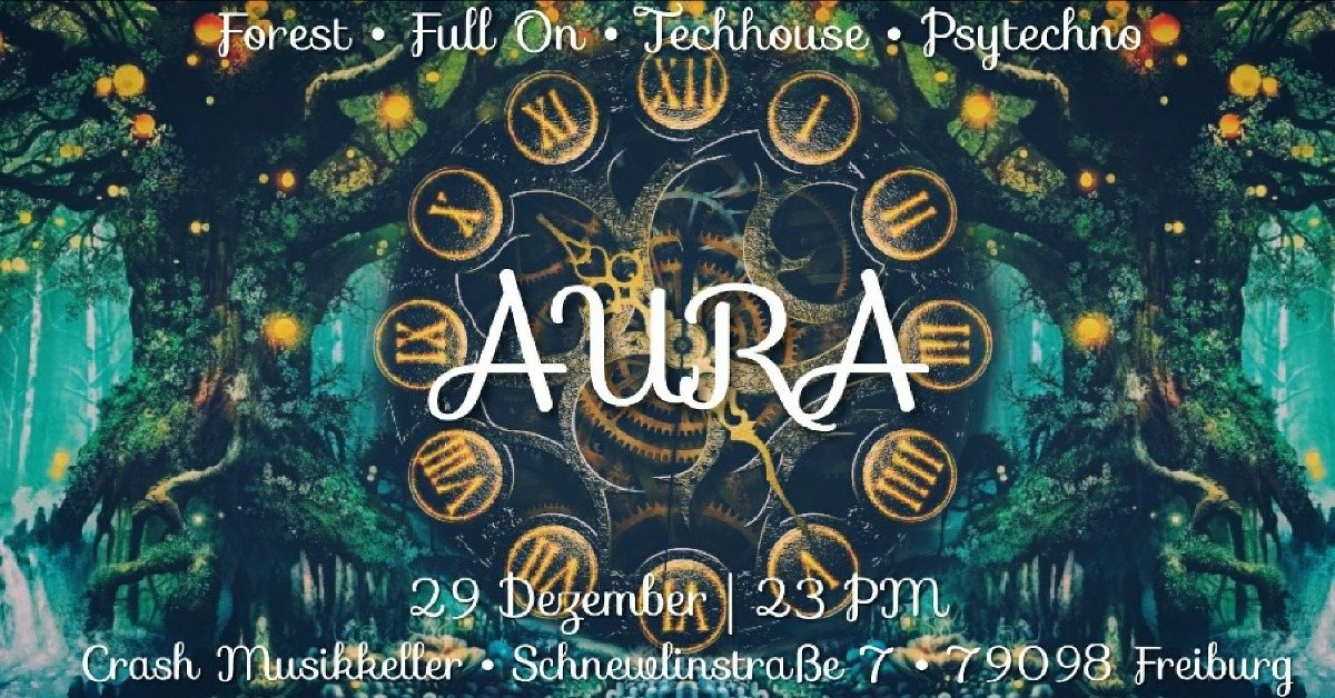 AURA presents: The timeless forest 29 Dec '18, 23:00