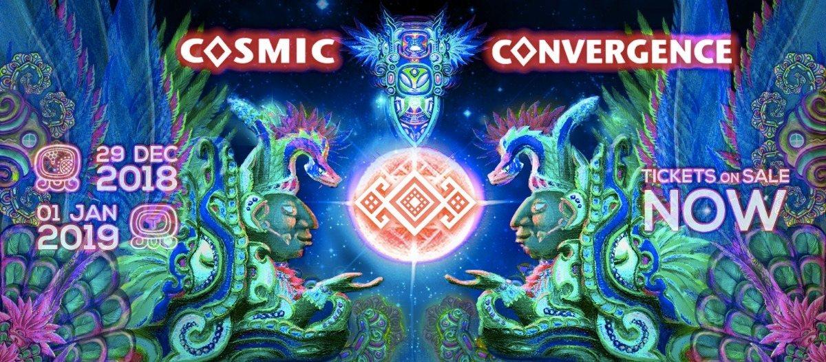 Cosmic Convergence Festival 2018 - Ancestral Awakening 29 Dec '18, 10:00