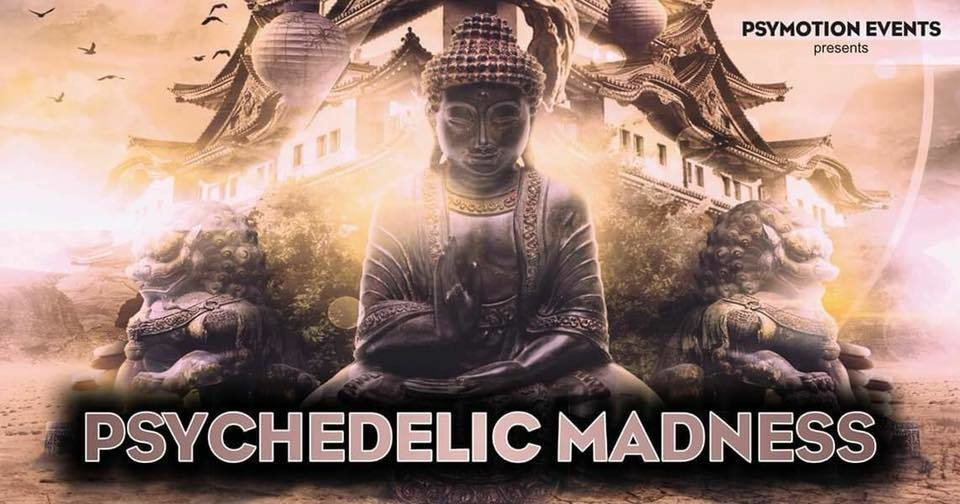 Psychedelic Madness #8 29 Dec '18, 23:00