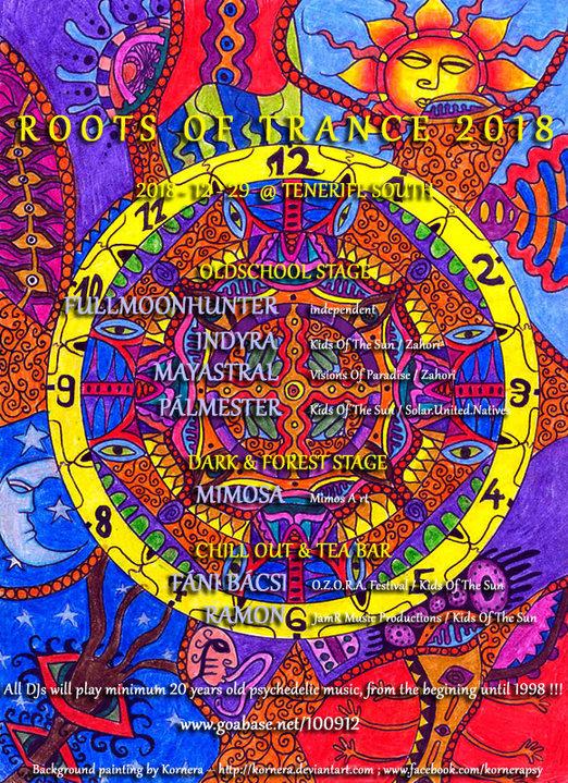 Roots Of Trance 2018 29 Dec '18, 18:00