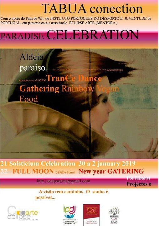 PARADISE CELEBRATION 30 Dec '18, 16:00