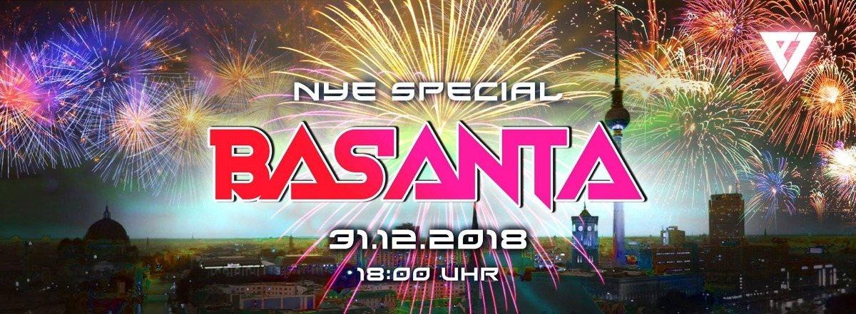 ॐ Basanta ॐ New Years Eve Special 31 Dec '18, 18:00