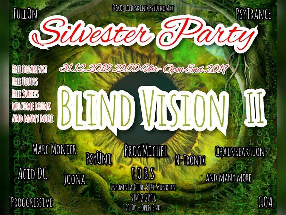 Blind Vision Silvester Party 31 Dec '18, 21:00