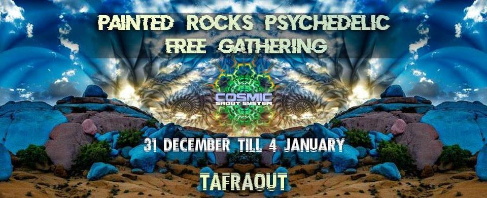 Painted rocks psychedelic free gathering 31 Dec '18, 14:00