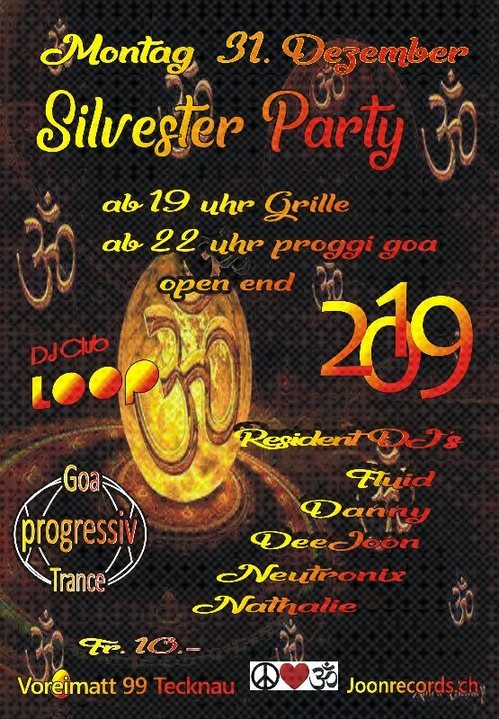 Proggi Goa Silvester Party 31 Dec '18, 19:00