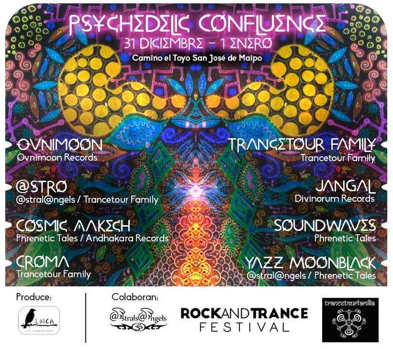 ॐ Psychedelic Confluence ॐ 31 Dec '18, 19:00