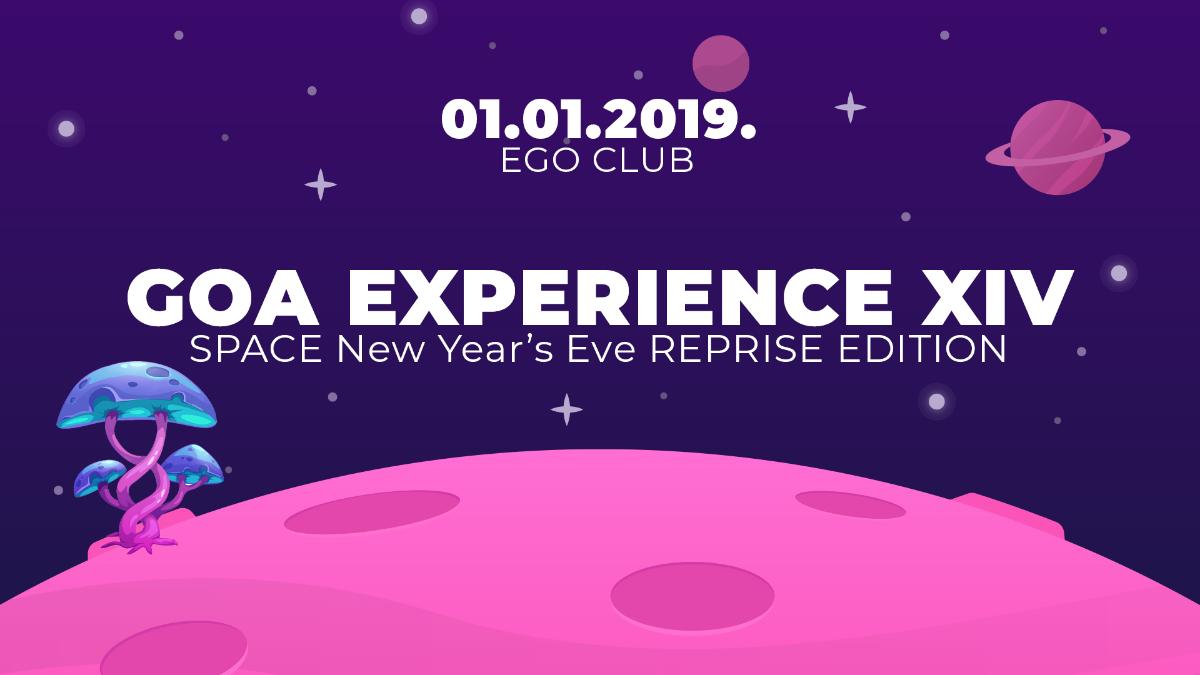 GOA EXPERIENCE XIV 1 Jan '19, 23:00