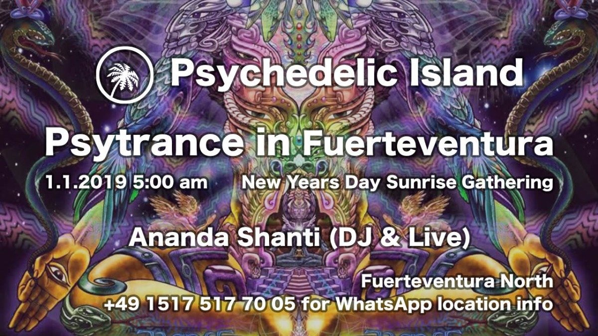 Psychedelic Island 1 Jan '19, 05:00