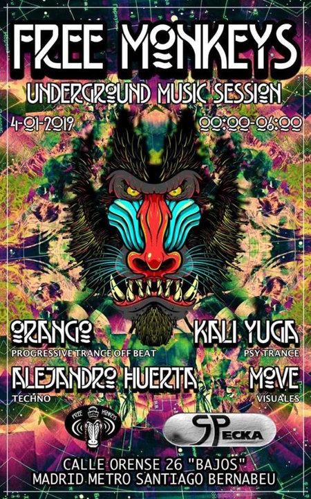 Underground Music Session # 2019 4 Jan '19, 23:30