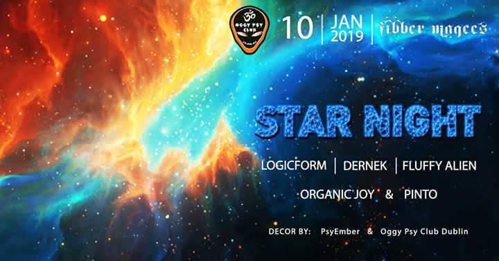 Oggy Club Star Night 10 Jan '19, 20:30