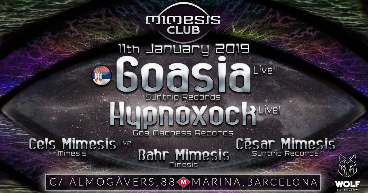 Mimesis CLUB 11 Jan '19, 23:30