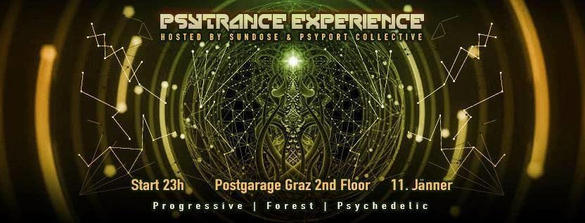 Psytrance Experience hosted by Sundose & PsyPort Collective 11 Jan '19, 23:00