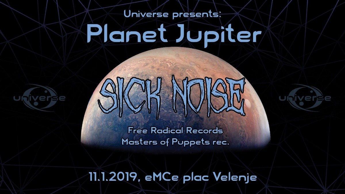 Universe presents: PLANET JUPITER 11 Jan '19, 22:00