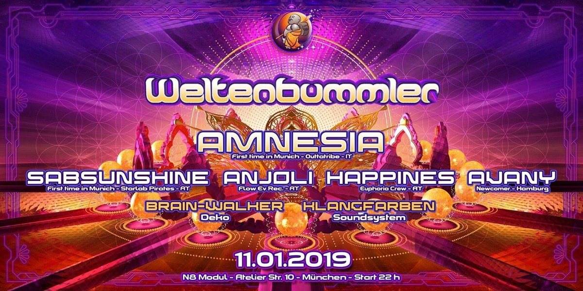 Weltenbummler pres. Women on the decks 11 Jan '19, 22:00