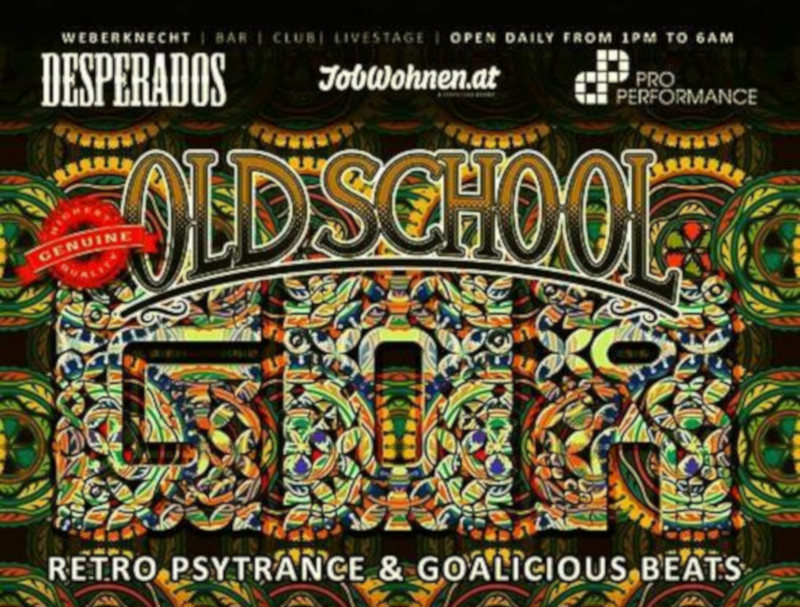 Oldschool Goa Party 12 Jan '19, 22:00