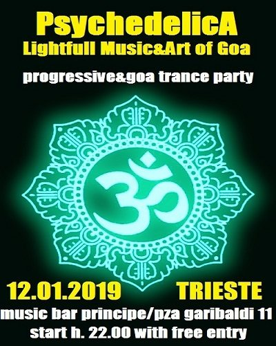 ***PsychedelicA***Lightfull Music&Art of Goa 12 Jan '19, 22:00