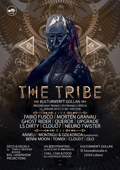 The Tribe · 12 Jan 2019 · Lübeck (Germany) · goabase ॐ parties and