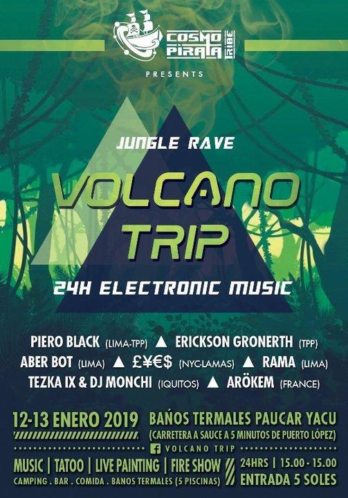 Volcano Trip 12 Jan '19, 15:00