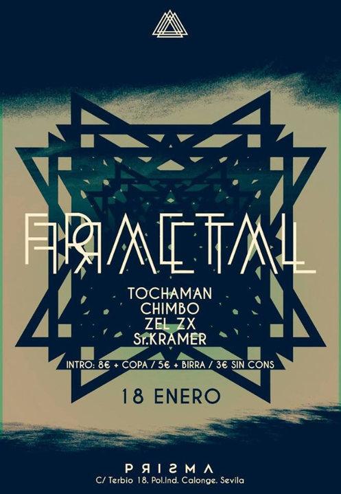 Prisma • Fractal - Viernes 18 Enero 18 Jan '19, 23:30