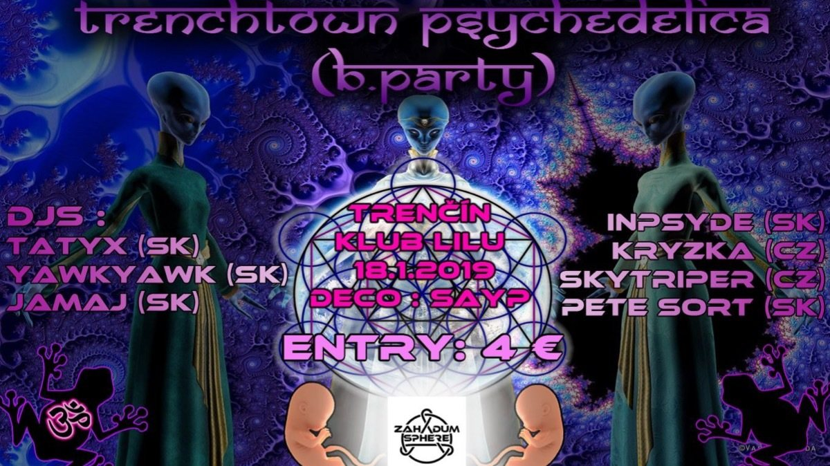 Trenchtown Psychedelica (B.party) 18 Jan '19, 20:00