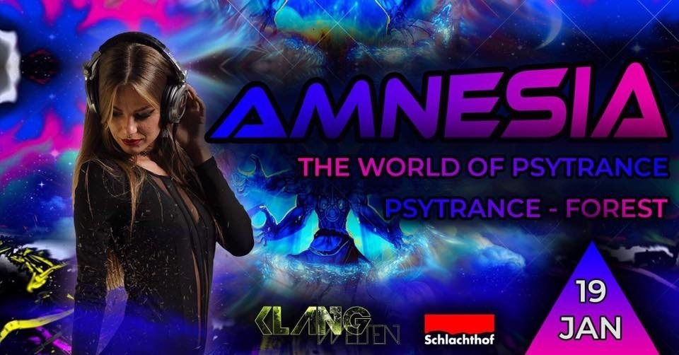 Amnesia The World of Psytrance 19 Jan '19, 22:00