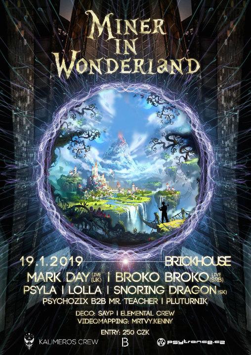 Miner in Wonderland 19 Jan '19, 20:00