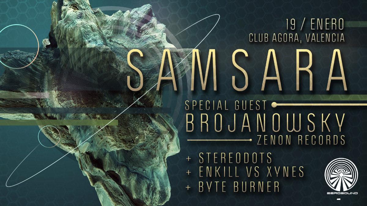 SaMsaRA -Brojanowsky- Agora Club 19 Jan '19, 23:00