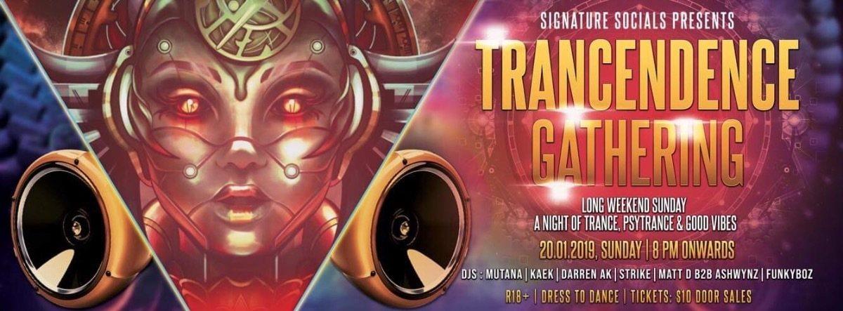 Trancendence Gathering 20 Jan '19, 20:00