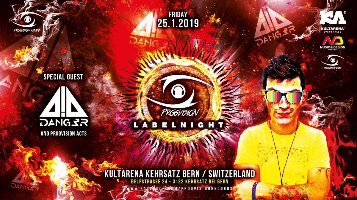 ★ PROGVISION RECORDS LABELNIGHT ★ w/ Dang3r 90 min! captain jack, simply nation 25 Jan '19, 22:00