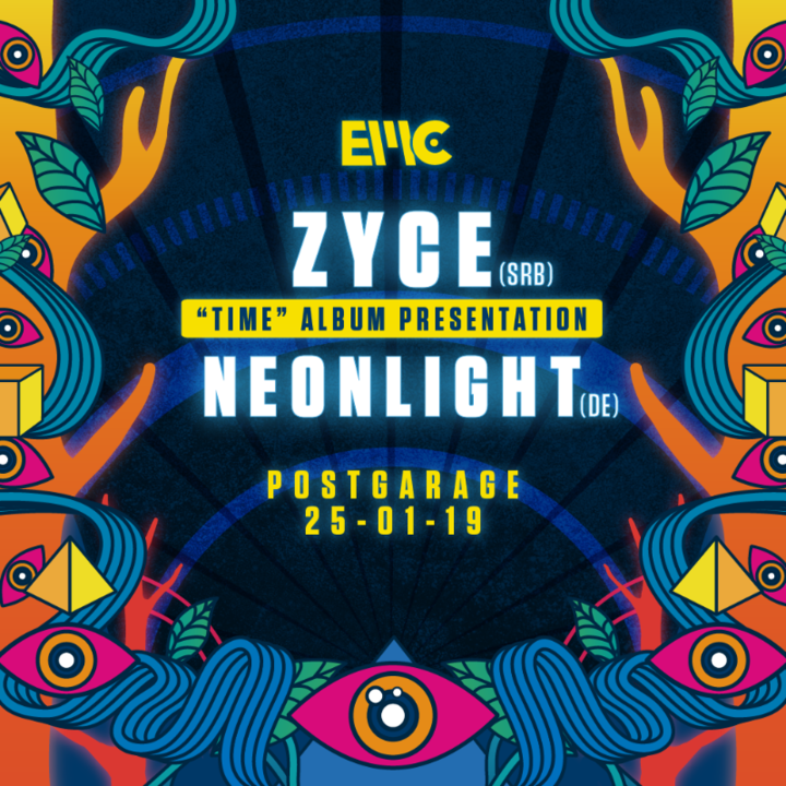 Zyce & Neonlight it's Electronic Music City Birthday 25 Jan '19, 23:00