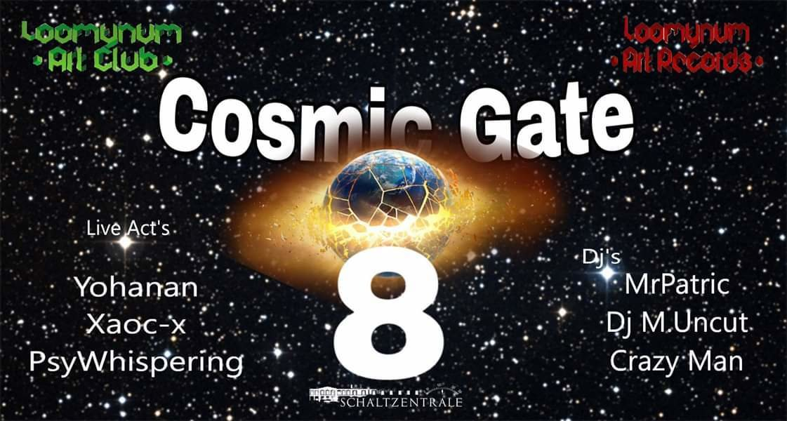 Cosmic Gate 8 26 Jan '19, 22:00