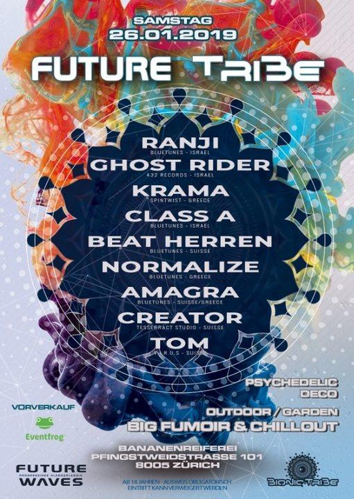 Future Tribe 26 Jan '19, 22:00
