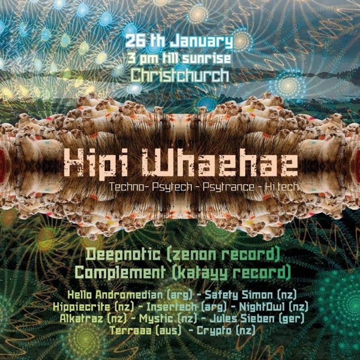 Hipi Whaehae 26 Jan '19, 15:00