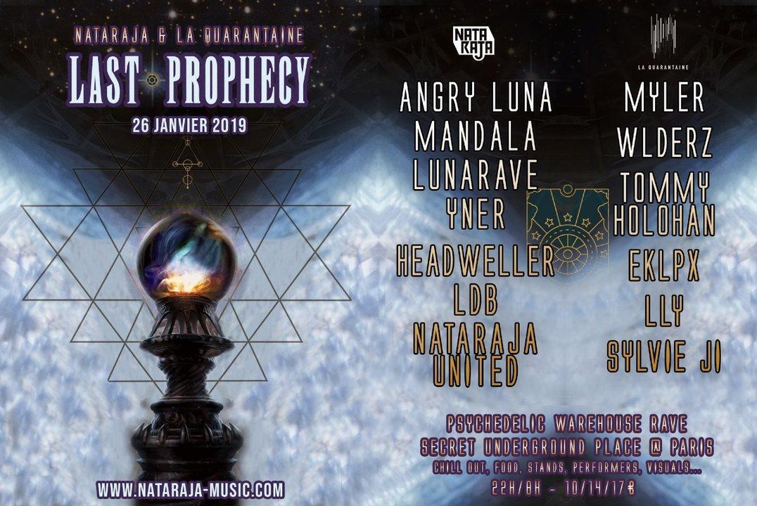 Last prophecy 26 Jan '19, 23:00