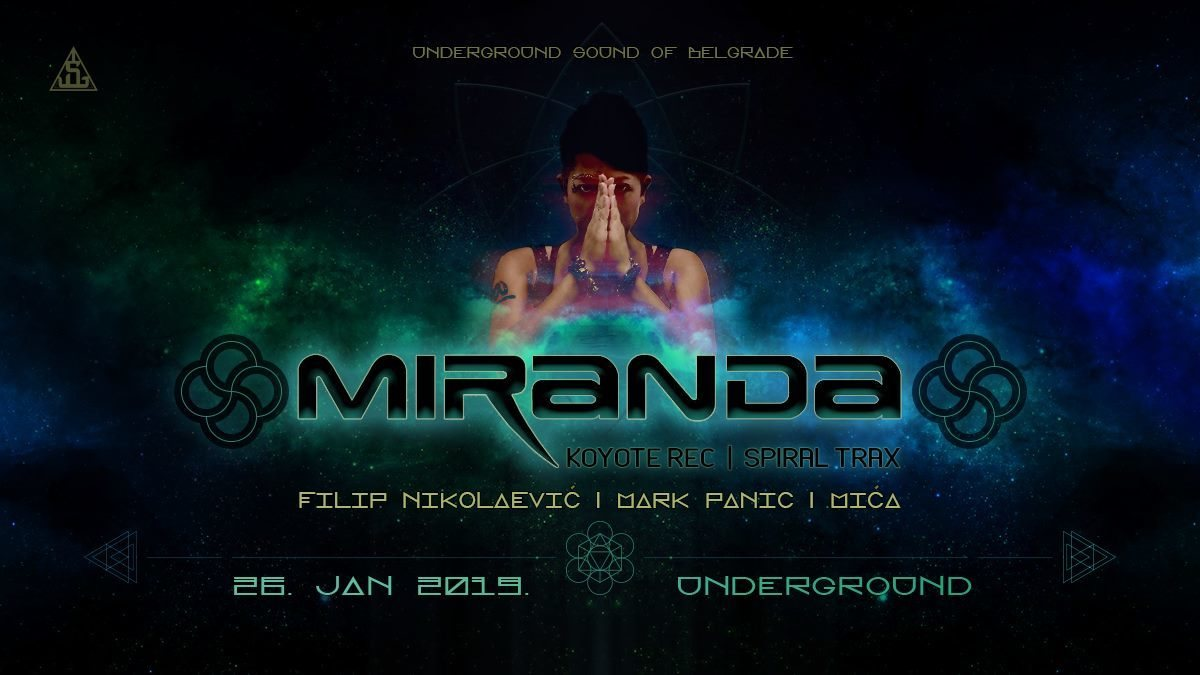Miranda at UnderGround 26 Jan '19, 23:00