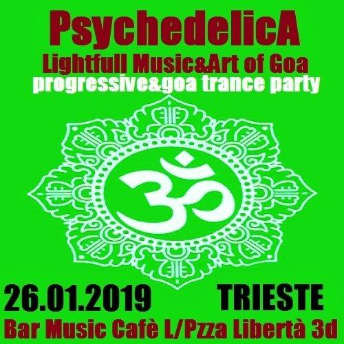 ***PsychedelicA***Lightfull Music&Art of Goa*** 26 Jan '19, 21:00