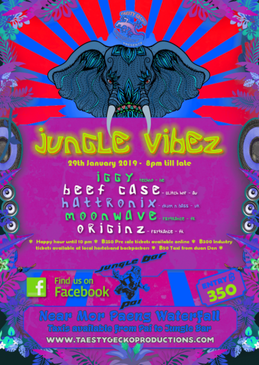 Jungle Vibez 29 Jan '19, 19:00