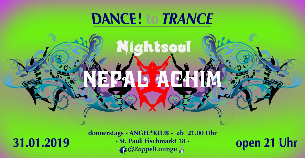 DANCE to TRANCE 31 Jan '19, 21:00