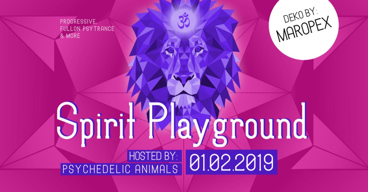 Psychedelic Animals present ✷ SPIRIT PLAYGROUND @ Club Spielplatz Linz 1 Feb '19, 22:00