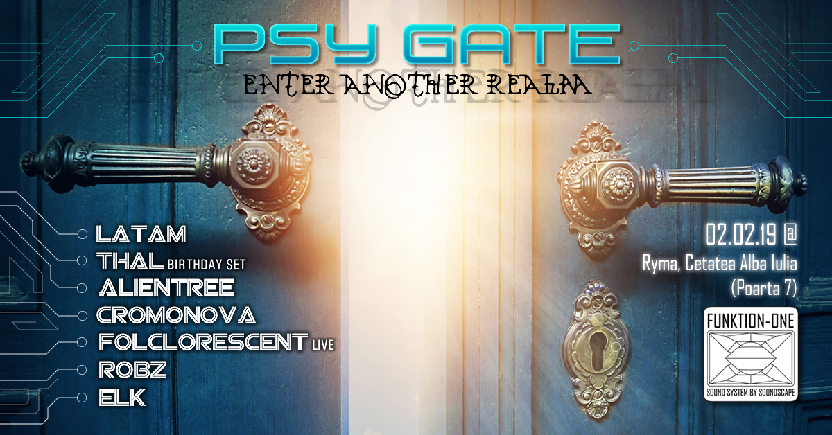 Psy Gate - Enter Another Realm 2 Feb '19, 21:00