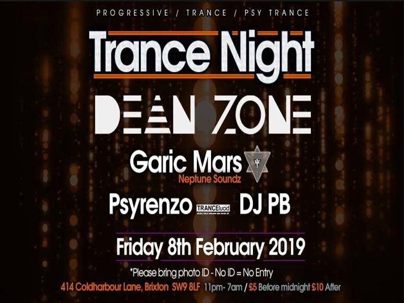 Club 414 Presents Trance Night (Trance & Psy Trance) 8 Feb '19, 23:00