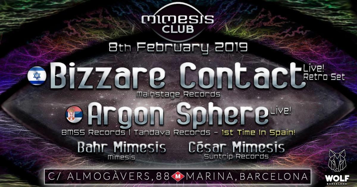 Mimesis CLUB 8 Feb '19, 23:30