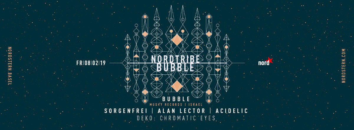 Nordtribe w/ Bubble 8 Feb '19, 23:00