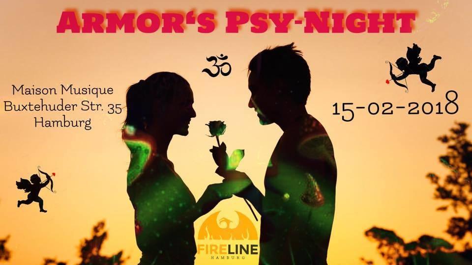 Armor´s Psy-Night 15 Feb '19, 21:00