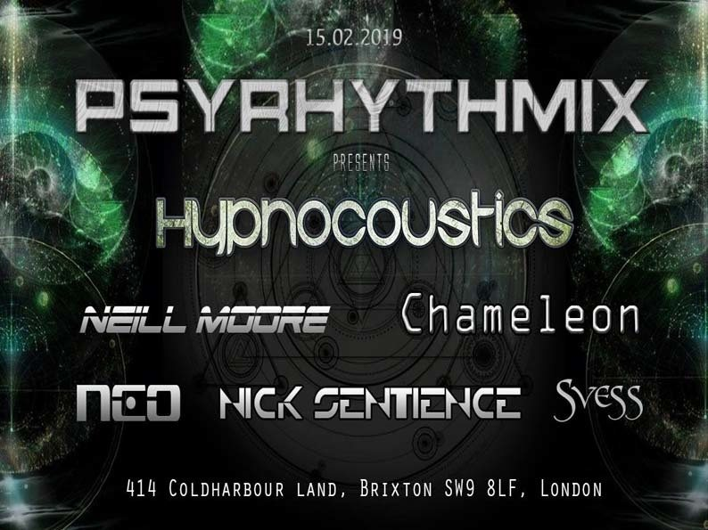 Psyrhythmix Psytrance Adventure 15 Feb '19, 23:00