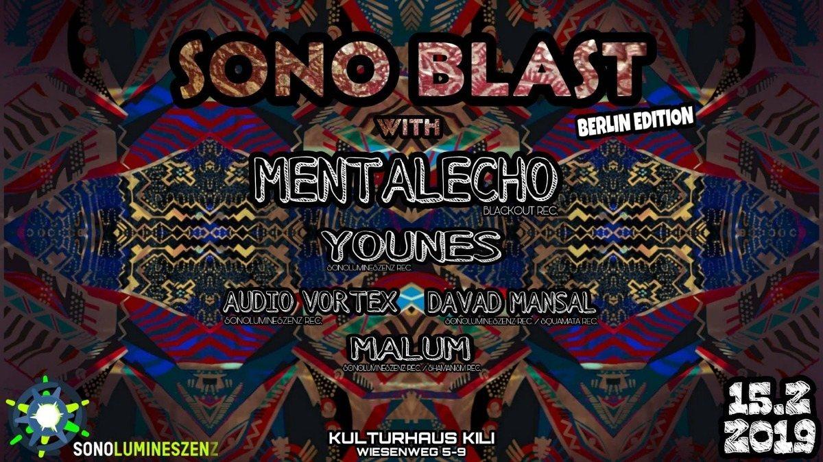SONO-Blast-Berlin w/Mentalecho 15 Feb '19, 22:00