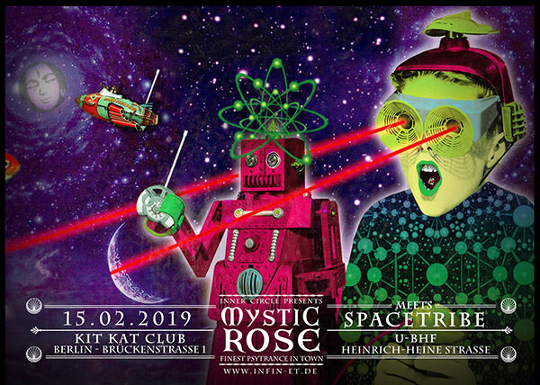 The Mystic Rose meets SPACETRIBE 15 Feb '19, 23:00