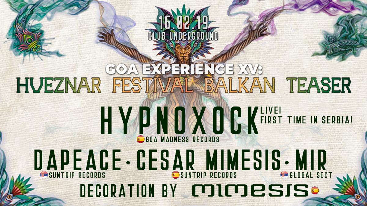 GOA EXPERIENCE XV 16 Feb '19, 23:00