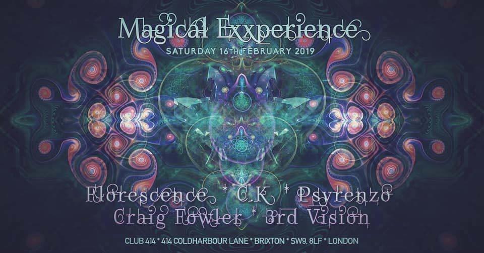 Magical Exxperience 16 Feb '19, 23:00