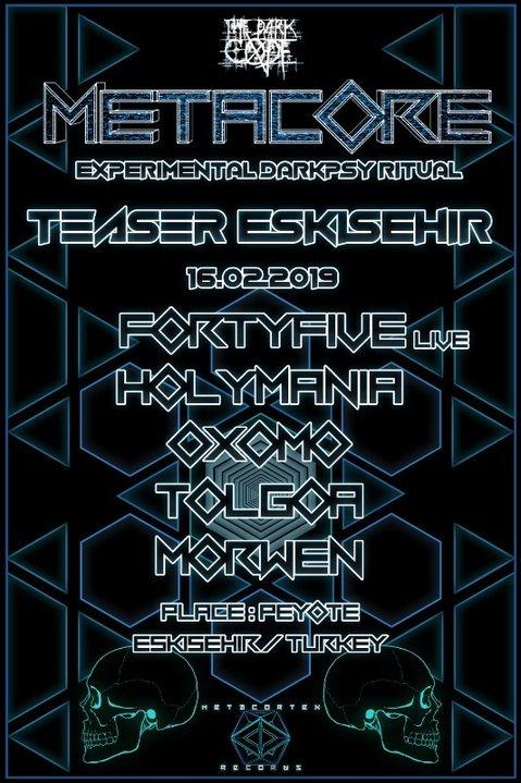 METACORE Festival TEASER Eskişehir 16 Feb '19, 20:00